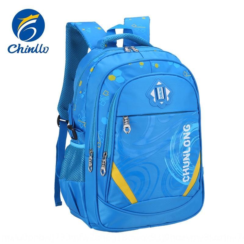 Pupila mochila grande capacidade à prova de água durável mochila infantil Schoolbag Backpack para a classe 1-3-6