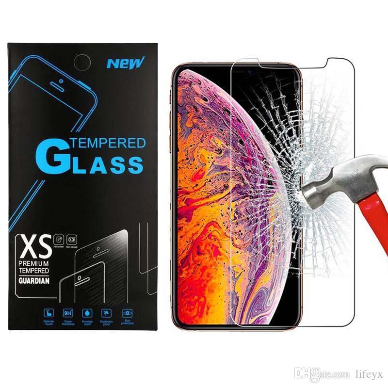 ل سامسونج j2 كور j3 j7 2018 غالاكسي a6 lg v40 v30 v20 k30 أريستو 3 الزجاج المقسى 0.33 ملليمتر الهاتف واضح حامي الشاشة