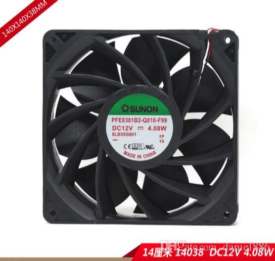 PFE0381B2-Q010-F99 14038 12V 4.08W трехпроводной охлаждающий вентилятор