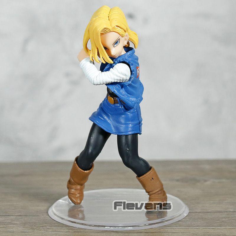 Großhandel Ball Styling Android NO.18 Lazuli PVC Figur Dragonball Z Sammler Modell Spielzeug Figur