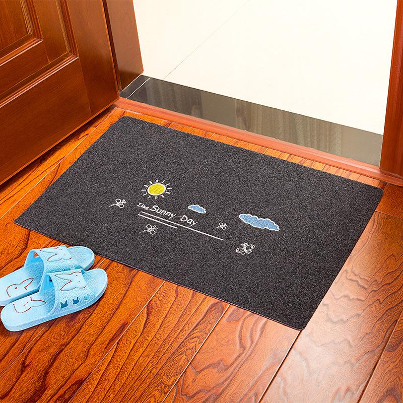 80*120cm Welcome Waterproof Door Mat Cartoon Cute Totoro Kitchen Rugs  Bedroom Carpets Decorative Stair Mats Home Decor Crafts Large Patio  Cushions ...
