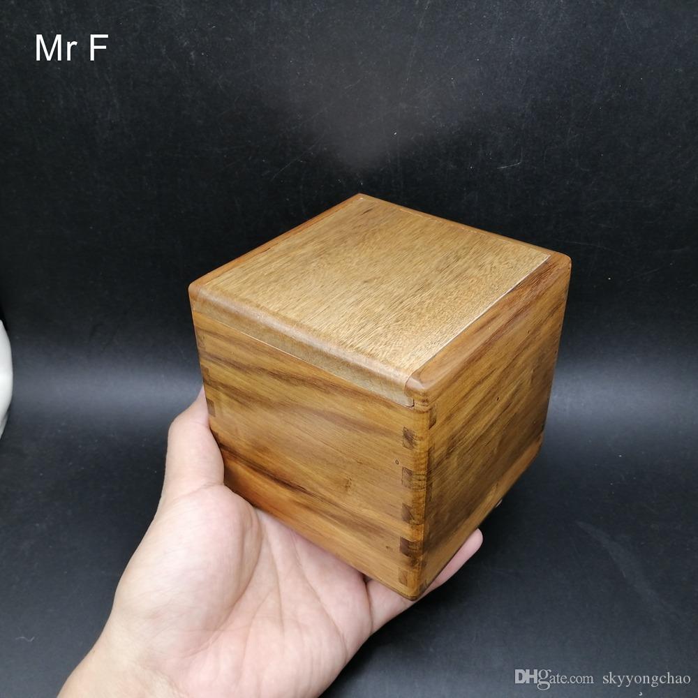 Cadeau secret Phoebe Zhennan dur Bois Puzzle Box Toy Casse-tête Jeu