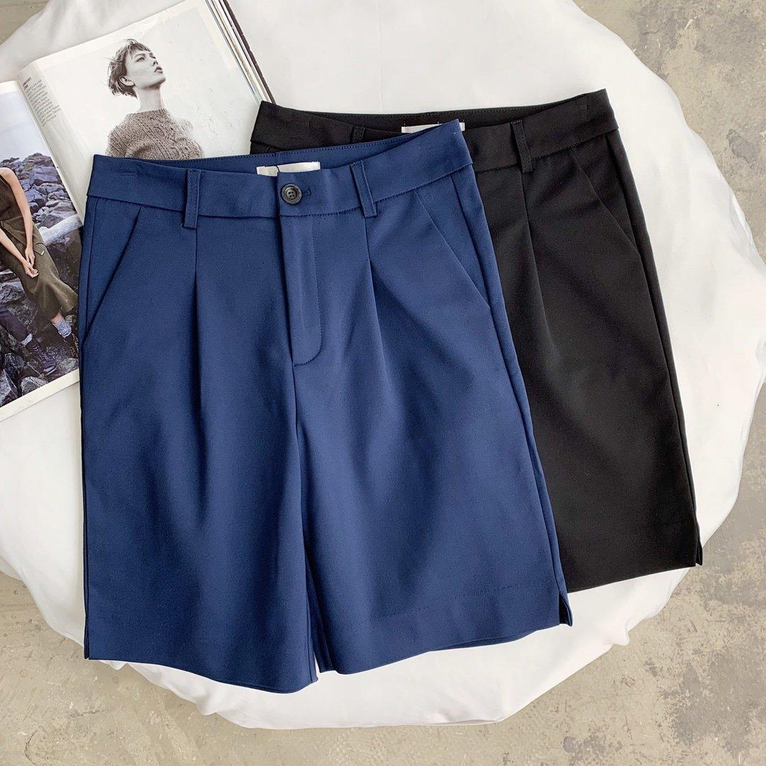 las mujeres diseñador de moda los pantalones de cortocircuitos de las señoras pantalones de pantalones cortos mejor corto favorito corrieron nueva U6YF clásico y sencillo