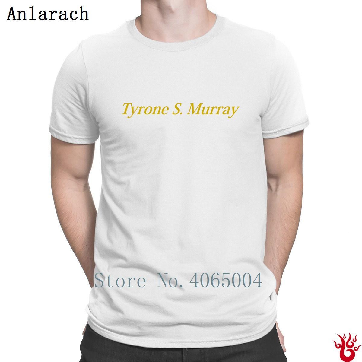 Murray Big Jackets Lettre Streetwear Tyrone HipHop Hauts T-shirt Eté Homme Personnaliser célèbre Tee-shirt à manches courtes