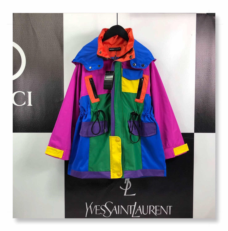 2019 Nuovo di alta qualità jacket191010 # 0000002376x6x autunno e l'inverno per bambini