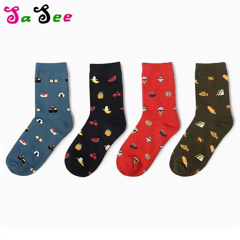 12 Pairs Korean Kawaii Art Couple Cotton Socks Women Harajuku Warm Ankle Cute Socks Happy Funny Socks Gifts For Men Meias Hot