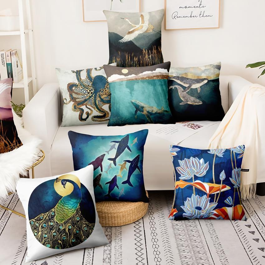 Funda de almohada Big Moments almohada decorativas referencia funda de almohada cojines decorativos Vintage