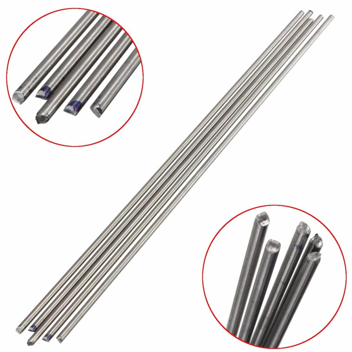 5pcs Titanium Alloy Bar 3mm x 250mm Titanium Rod Metal Shaft Bar Round Rod