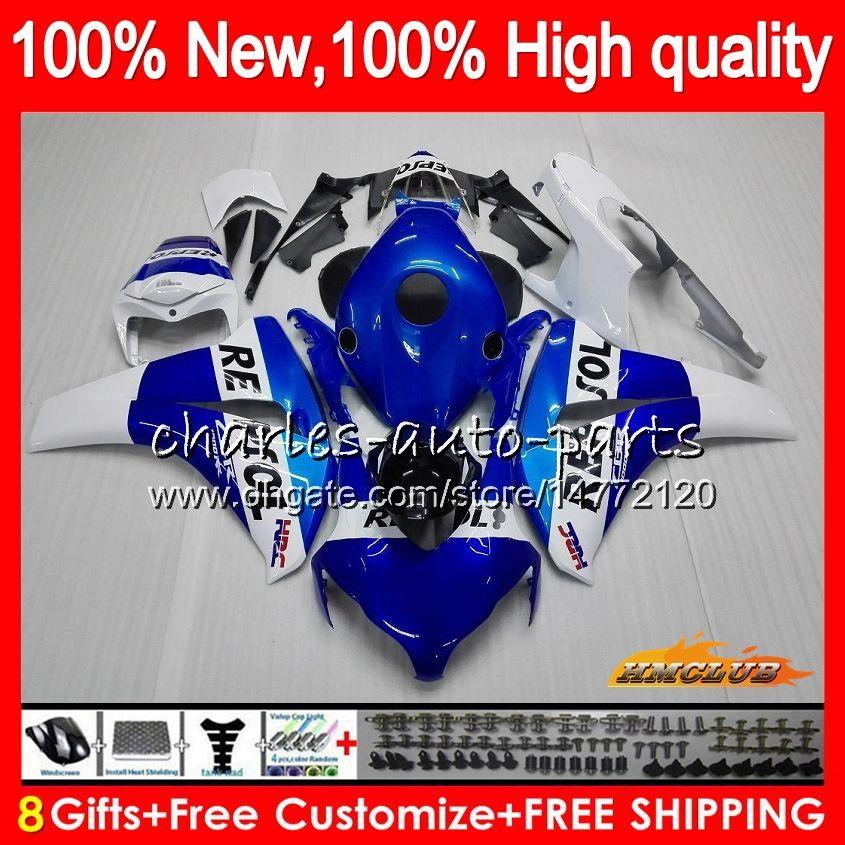 Body Repsol Blue for Honda CBR 1000RR CBR 1000 1000CC RR CC 79HC.20 CBR1000 RR CBR1000RR 08 09 10 11 2008 2009 2011 20001フェアリゾーンOEMキット