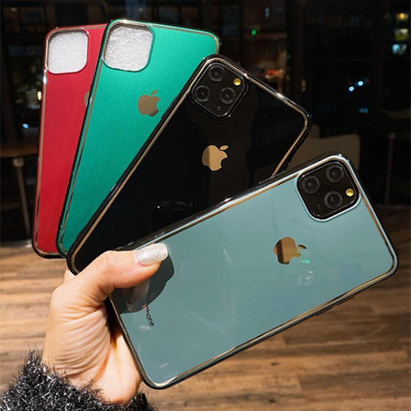 iPhone XS 최대 XR x 8 7Plus 11 Pro Luxury Soft Back Case 다채로운 패션 셸을위한 인쇄 전화 케이스 커버
