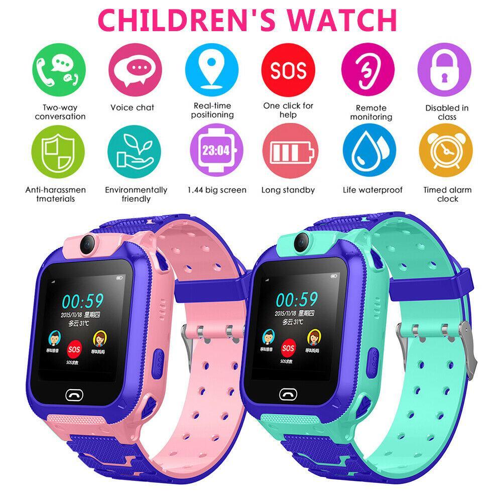 2020 جديد 5 جيل الأطفال متعددة الوظائف مشاهدة ذكي تحديد المواقع ووتش GPS المقتفي SOS دعوة GSM سيم عيد الميلاد هدية للأطفال