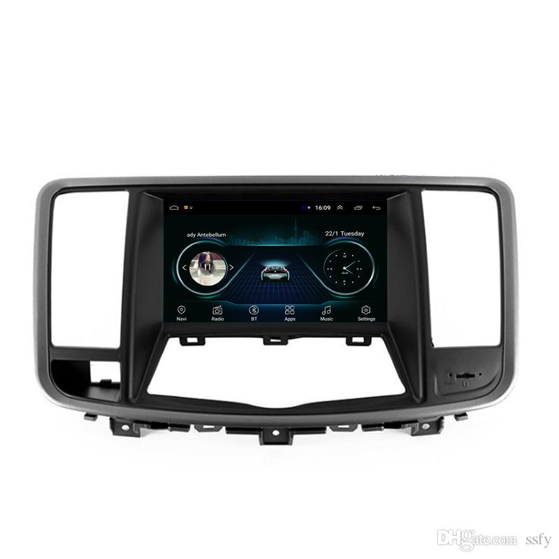 Android car GPS with multi-touch screen free map front camera excellent bluetooth fast delivery for Nissan teana J32 2008-2013 8inch