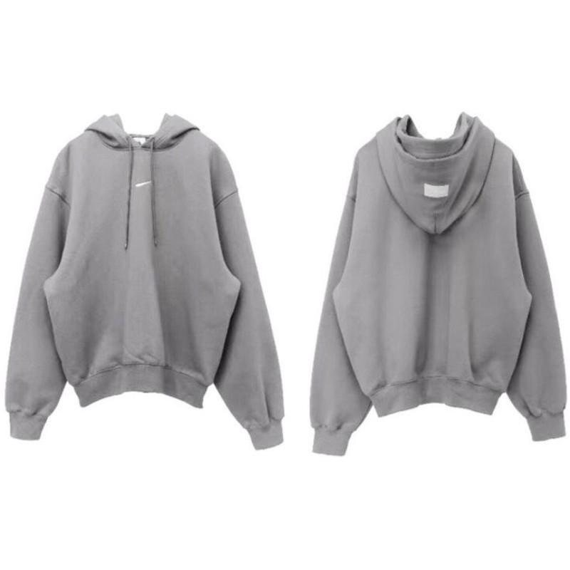 Hommes de haute qualité Hoodies Célèbre Hommes Femmes Couples Casual Sweat-shirt à capuche pour hommes gris taille S-XL