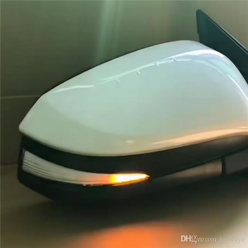 مرآة الرؤية الخلفية الجانبية للجناح الجانبي بعد الحركة الوامضة المتسلسلة أدت أضواء إشارة إشارة الدوران الديناميكية لتويوتا rav4 rav 4