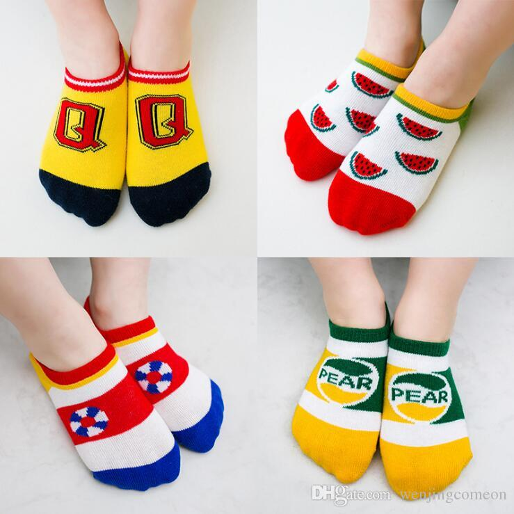 Cotton Socks Unisex Comfortable Sock for Boys Girls Toddler Kids Child Socks Hot