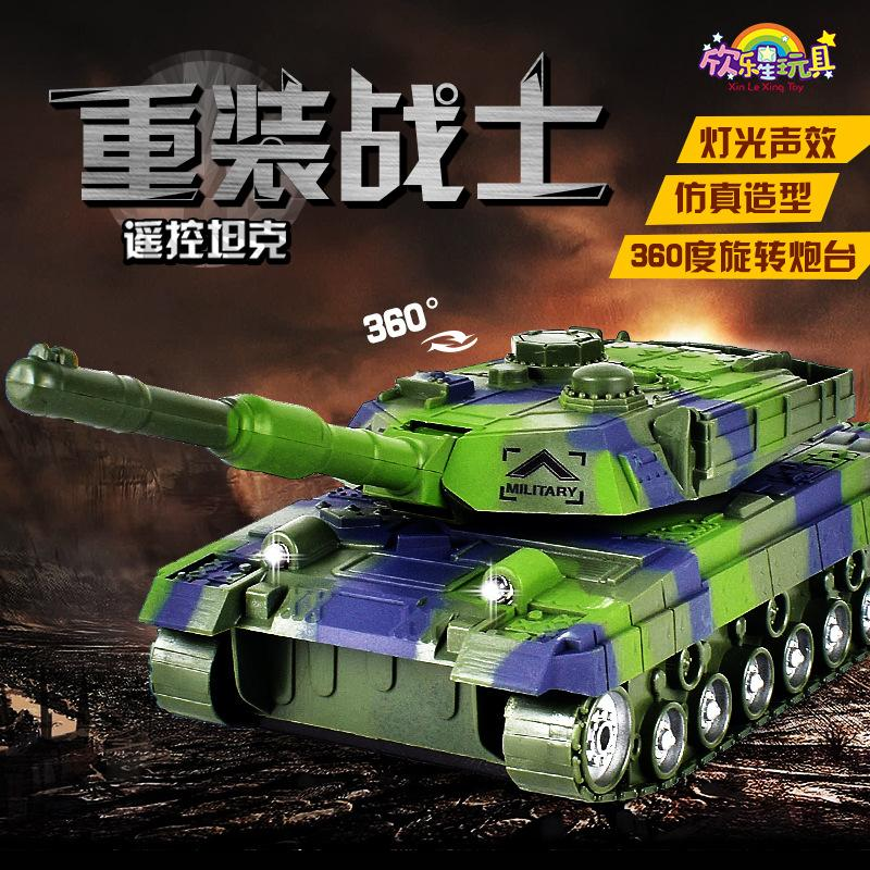 heat sale children electric remote control tank toy wireless charging remote control tank military model tank toy