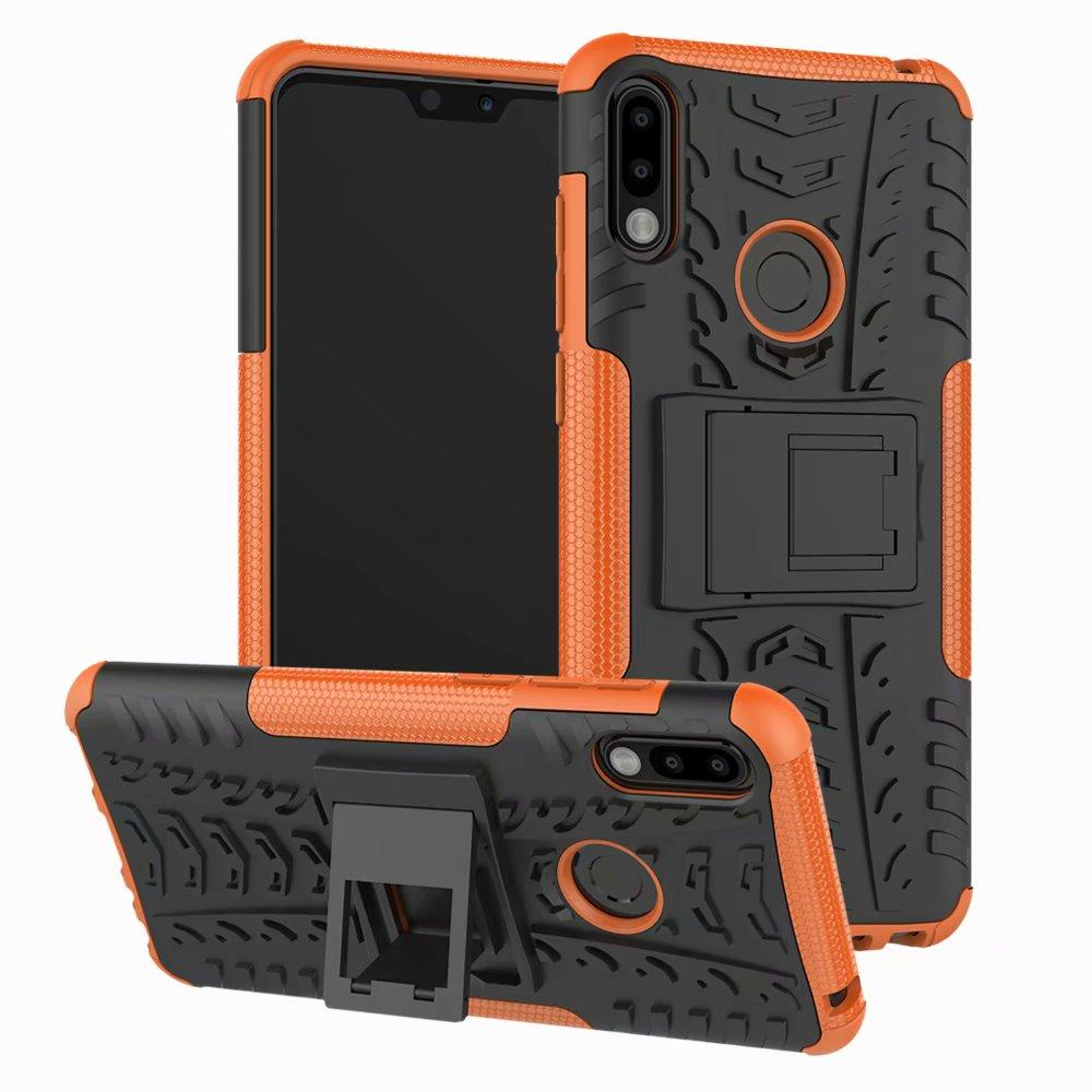 Stoßfeste Silikon-Ständer Rüstung Telefon-Kasten für Asus Zenfone ZS620KL ZC600KL ZB601KL ZB631KL ZB601KL ZB570TL ZE601KL ZB633KL Back Cover