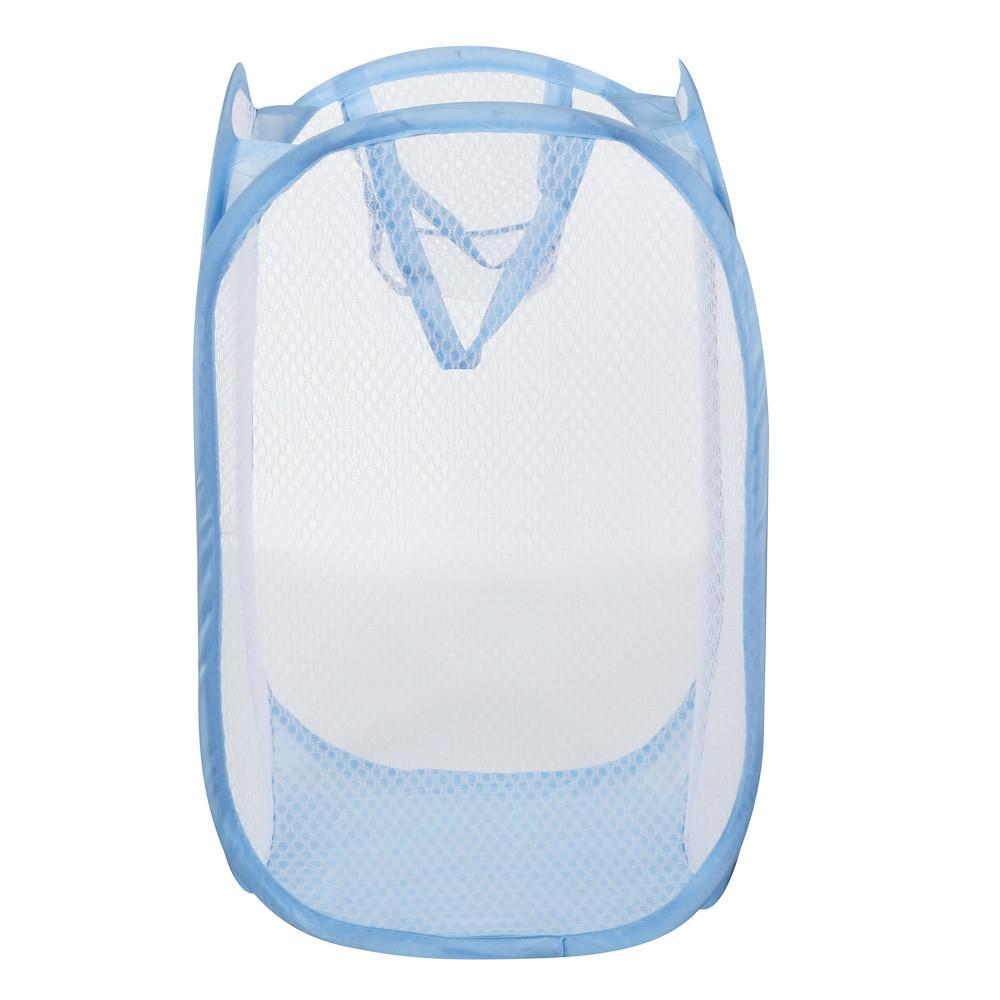 جديدة قابلة للطي يطفو على السطح غسل الملابس سلة الغسيل حقيبة تعوق شبكة التخزين الرئيسية الصديقة الغسيل # 50 سلال التخزين