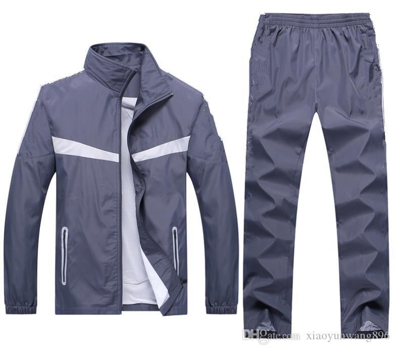 Men's sports suit new listing Men's casual sports suit high-grade outdoor sports suit