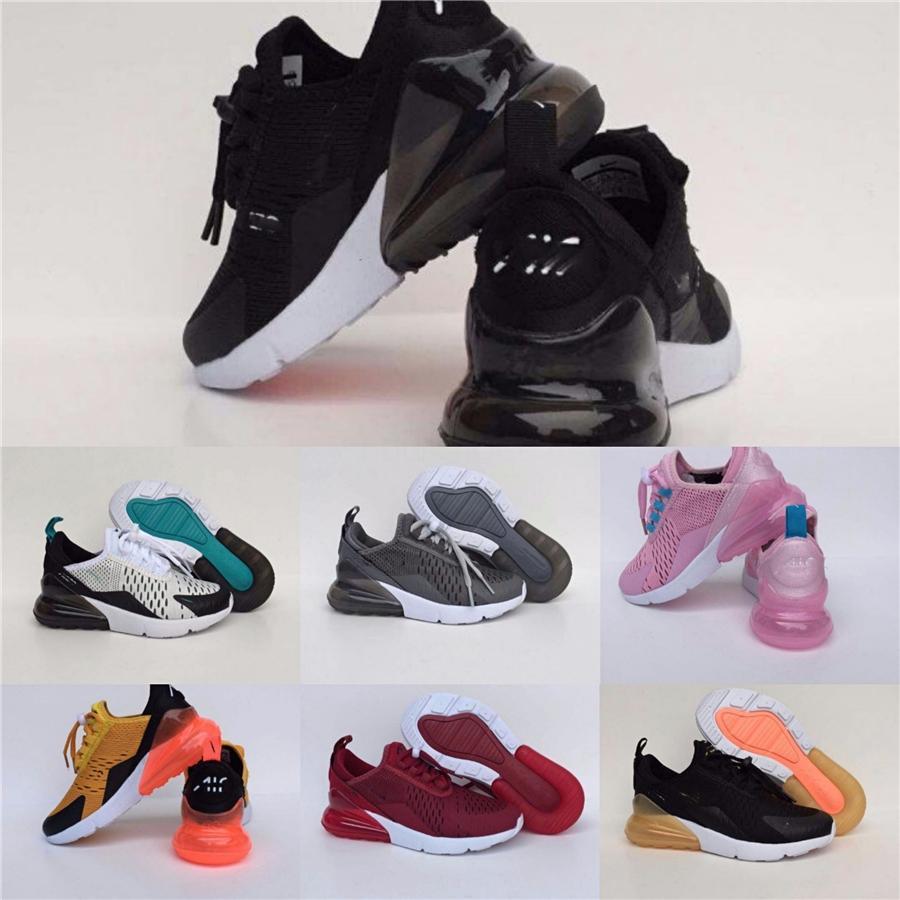 2020 del progettista nuovi pattini 270 Mnvn Arancione Nero fosforo corso delle scarpe da tennis per i bambini s Bambini Sport Formatori F258 Fv4440 Fy3729 # 444