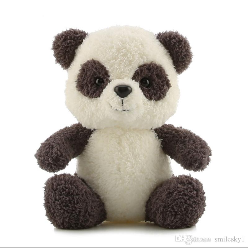 "Plush Panda Toys Stuffed Animal Dolls Cute Ornaments Car Party Decorations Gifts 9"""