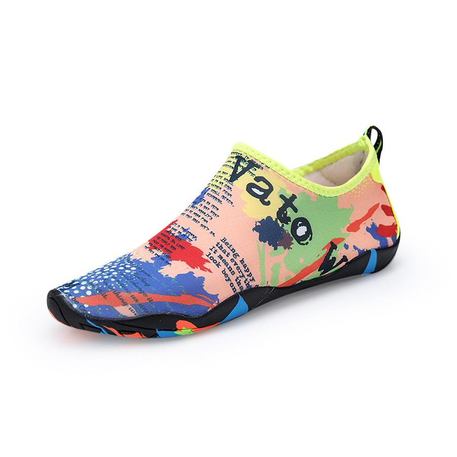 Size 28-47 Unisex Sneakers Swimming Shoes Water Sports Aqua Seaside Beach Surfing Slippers Upstream Light Athletic Footwear