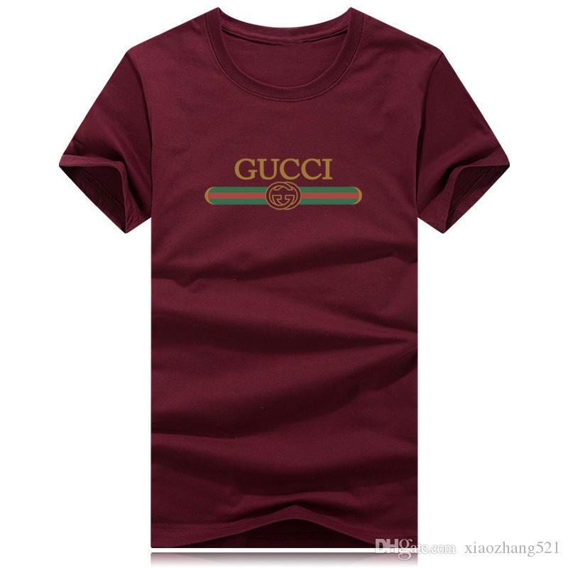 أزياء الصيف قصيرة تي شيرت الرجال ماركة الملابس القطنية مريحة الذكور تي شيرت طباعة شيرت الرجال الملابس زائد الحجم 9 ألوان