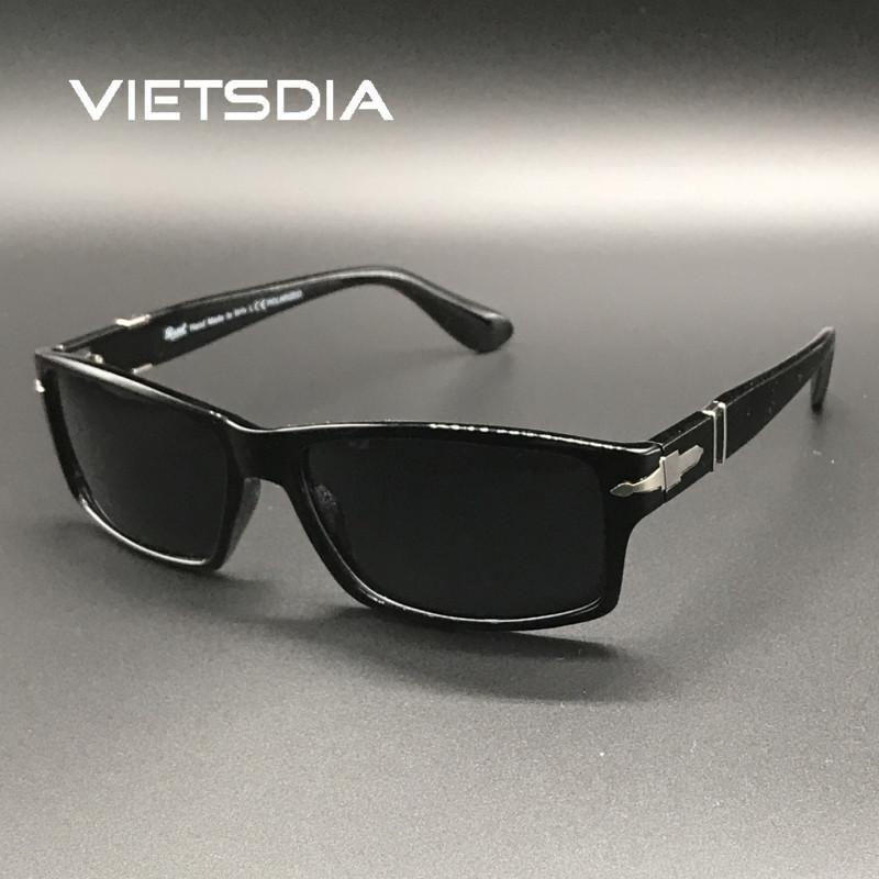 2018 neue Art und Weise Männer polarisierten Sonnenbrille fährt Mission Impossible4 Tom Cruise James Bond Sun Glasses Oculos De Sol Masculino T200615