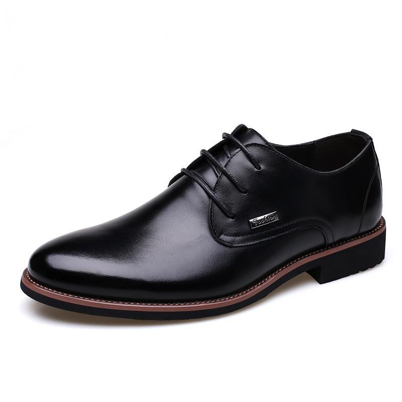 Loisirs chaussures formelles hommes lacent chaussures talons plats peau de vache multiples mocassins occasion d'affaires chaussures voyage zy727