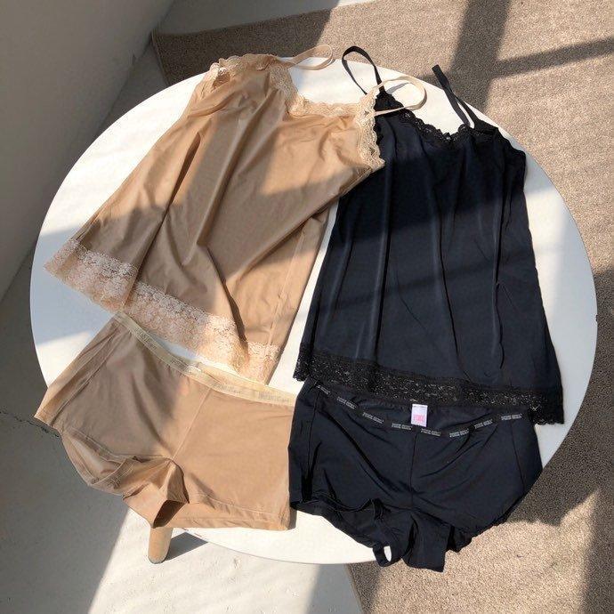2020 hochwertige Damen Hosen Sets Oberseiten + Hosen 2pcs Frühling und Sommer beiläufige Sätze Modekleidung A4QH