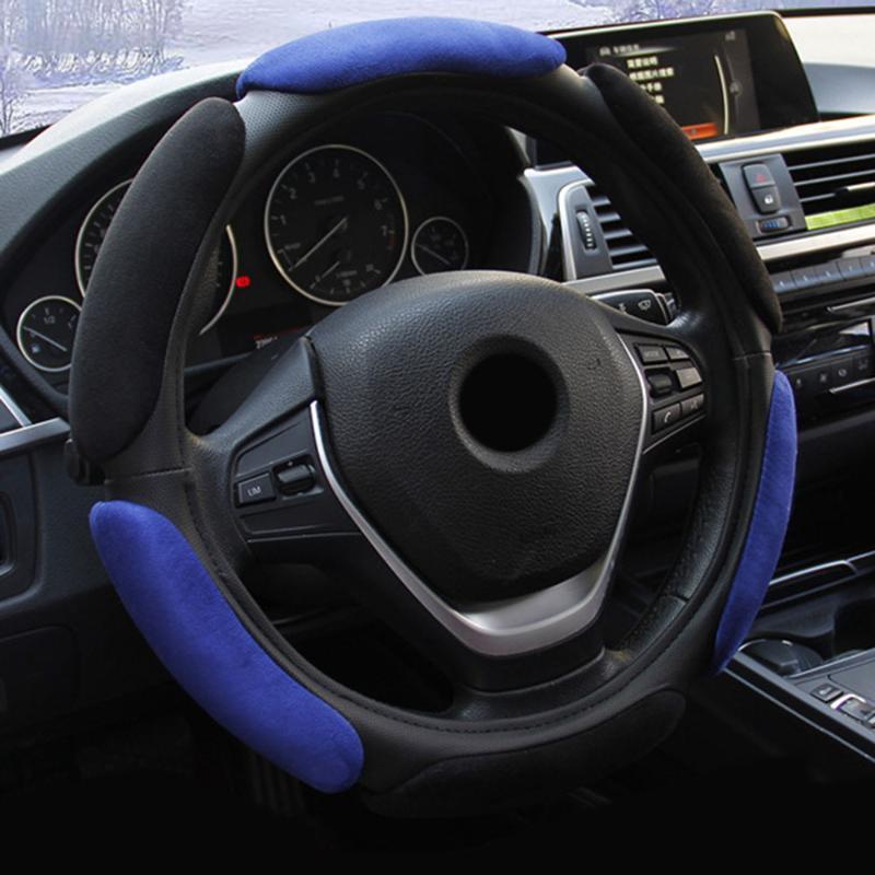 Universel Couverture De Volant Auto Intérieur Non-slip Coussin Décoration