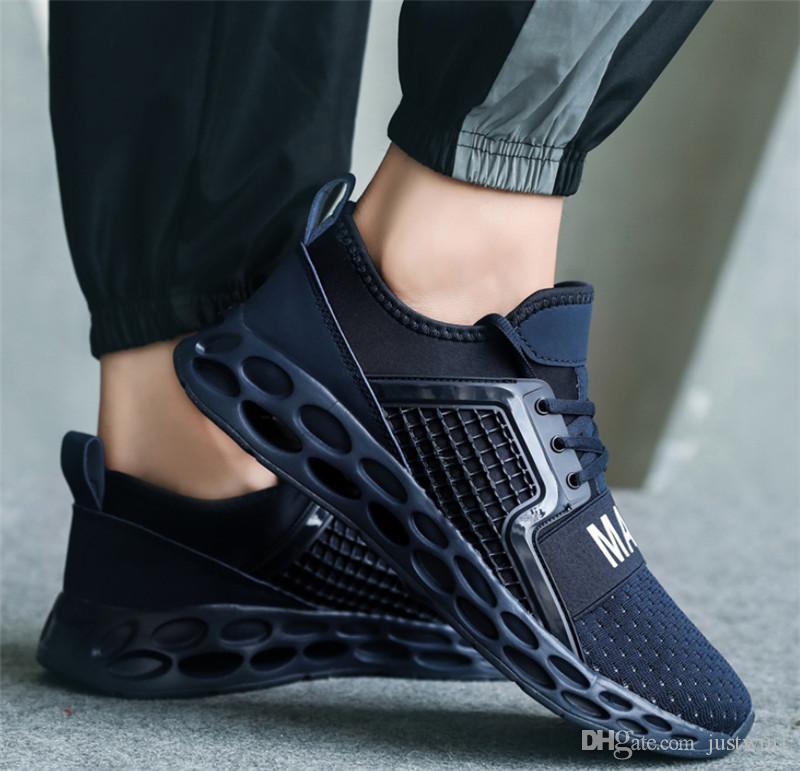 Top 2020 Qualitäts-wilde atmungsModeDesignerSchuhe Turnschuhe schwarz, rot, blau Turnschuhe mes leichte beiläufige s-Schuhe
