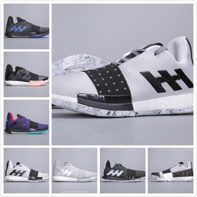Высокое качество 2019 Новые мужские Harden Vol.3 Баскетбольные кроссовки мужские Marvel Iron Man Спортивные кроссовки мужские harden 3 Кроссовки мужская модная обувь
