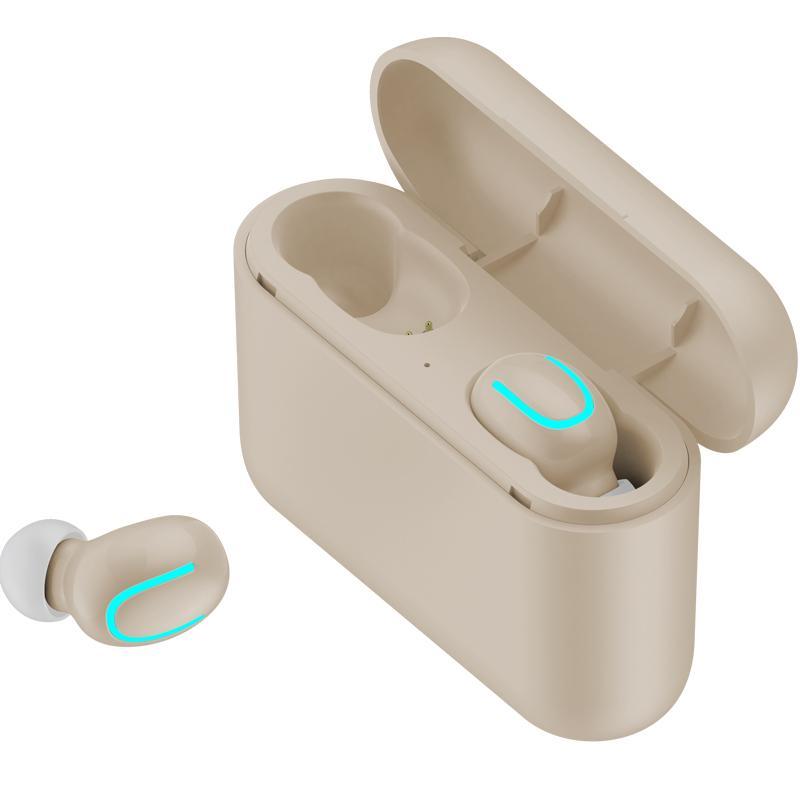HBQ Q32 tws 5.0 سماعات بلوتوث Bluetooth 5.0 + EDR سماعة IPX5 للماء البسيطة سماعات لاسلكية سماعات لاسلكية مع ميكروفون