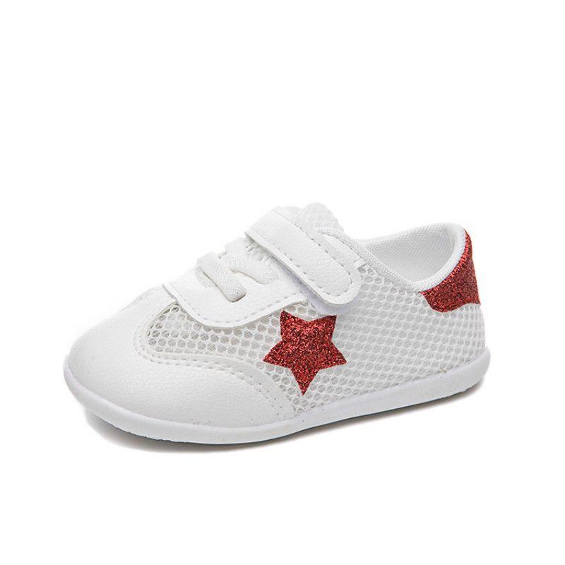 Sottopiede 12-14cm 2020 scarpe da tennis per bambini Mesh Scarpe Bambino Piccolo bianchi