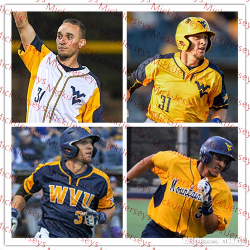 West Virginia Mountaineers Baseball Brandon White Paul McIntosh Kevin Brophy Tevin Tucker TJ Lake Jackson Wolf Nick Snyder Sam Kessler