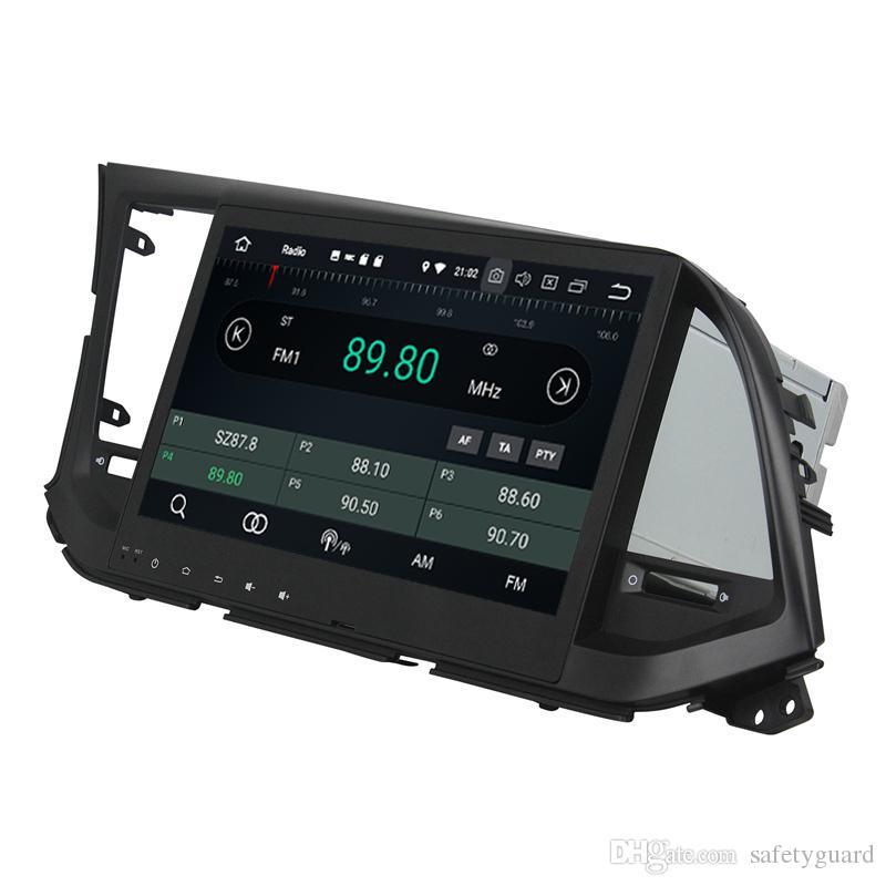 """현대 Elantra 2016 안드로이드 8.0 옥타 코어 2 딘 10.1에 대한 """"자동차 DVD 라디오 GPS 블루투스 와이파이 USB 4 기가 바이트 RAM 32 기가 바이트 ROM을 미러 링크"""