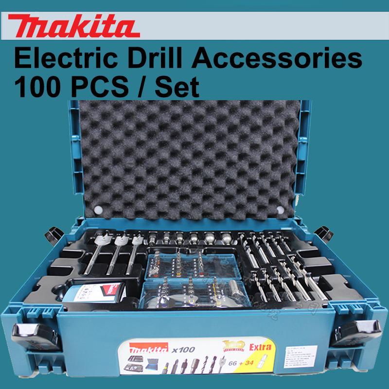 Japon Métal Travail du bois Mèches Tournevis tête Cylindre Boîte à outils perceuse électrique Accessoires 100PCS / set