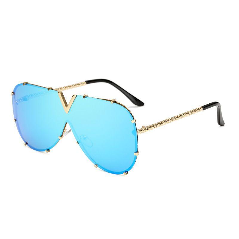 2020 de alta calidad polarizados El piloto lente diseñador de gafas de sol de moda para hombres y mujeres Marca Sport Gafas de sol gafas de sol de lujo