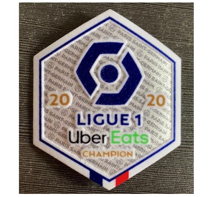 2020 Fransız Lig Ligue 1 şampiyonu futbol Yama Conforama şampiyon Futbol Rozet Ücretsiz nakliye!