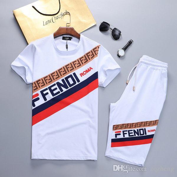 Yeni yaz spor erkek yuvarlak boyun tam zip kısa kollu koşu takım elbise spor erkek giyim ve pantolon hoodies ve M-3XL