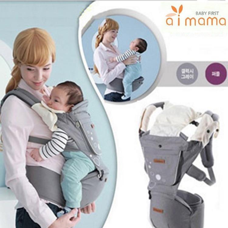 Fabricants Version améliorée Porte-bébé multifonction Tabouret taille Sangle coton usine Coût gros pas cher