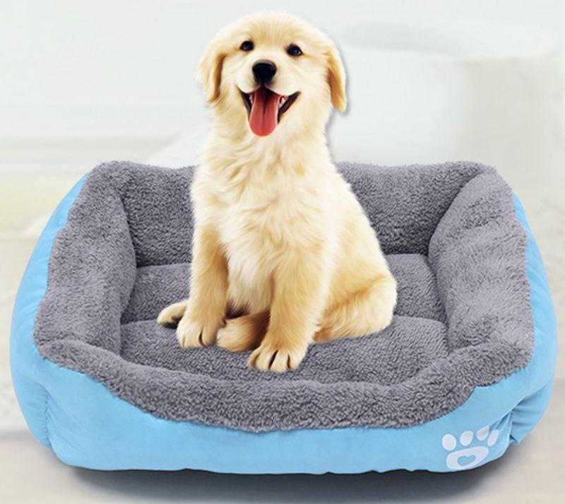 애완 동물 개 침대 PP 코튼 인형 작은 개 개집 소프트 강아지 고양이 겨울 (22) LQPYW959 디자인 애완 동물 하우스 용품 애완 동물 쿠션을 따뜻하게 침대