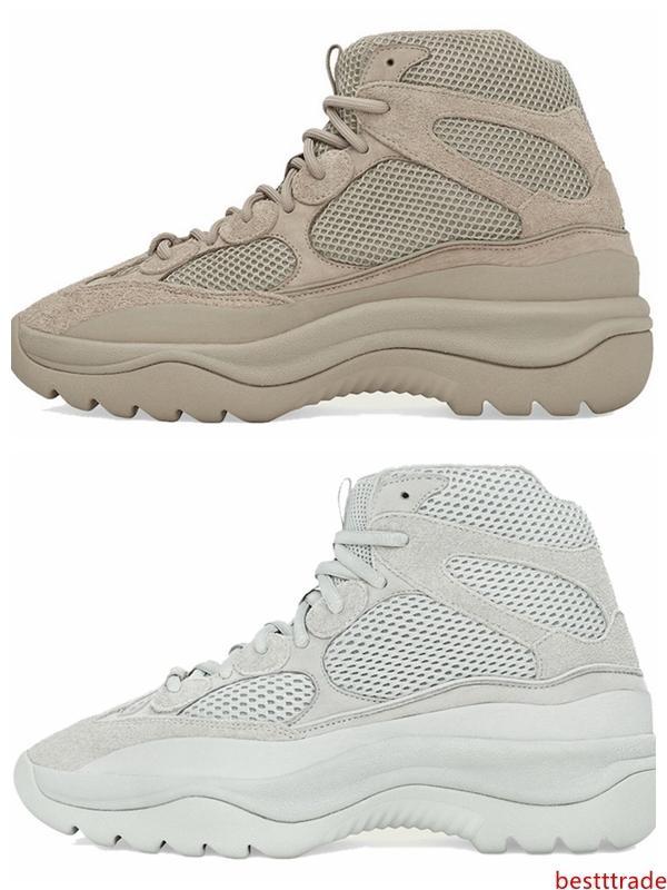 Desierto de diseño de arranque Kanye West Martin botas de moda de lujo de 2019 hombres botines zapatos de la marca estrella de las zapatillas de deporte al aire libre para hombre entrenadores