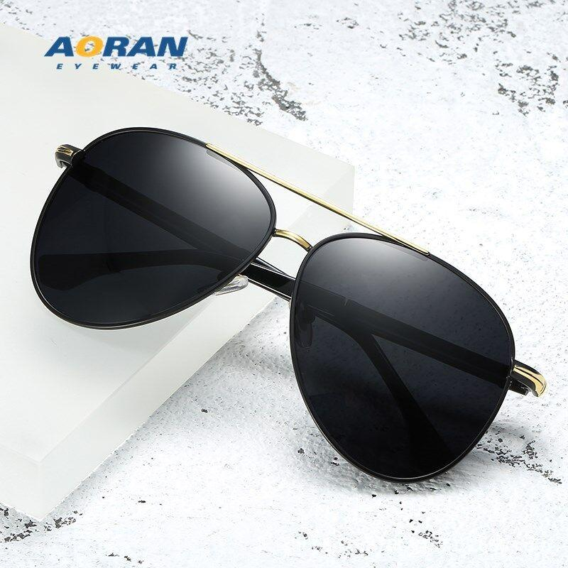 Yeni metal polarize güneş gözlüğü erkek 8738 renk değiştirerek güneş gözlüğü kurbağa ayna, gece ve gündüz, retro güneş gözlüğü