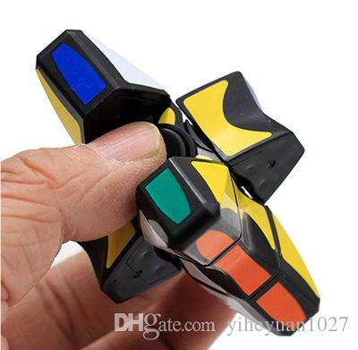 Finger GRYO Cube Spinner Fidget Cubes Spinning Magic Cube EDC Anti-stress Rotation Spinners Fidget Spinners Decompression Novelty Toys