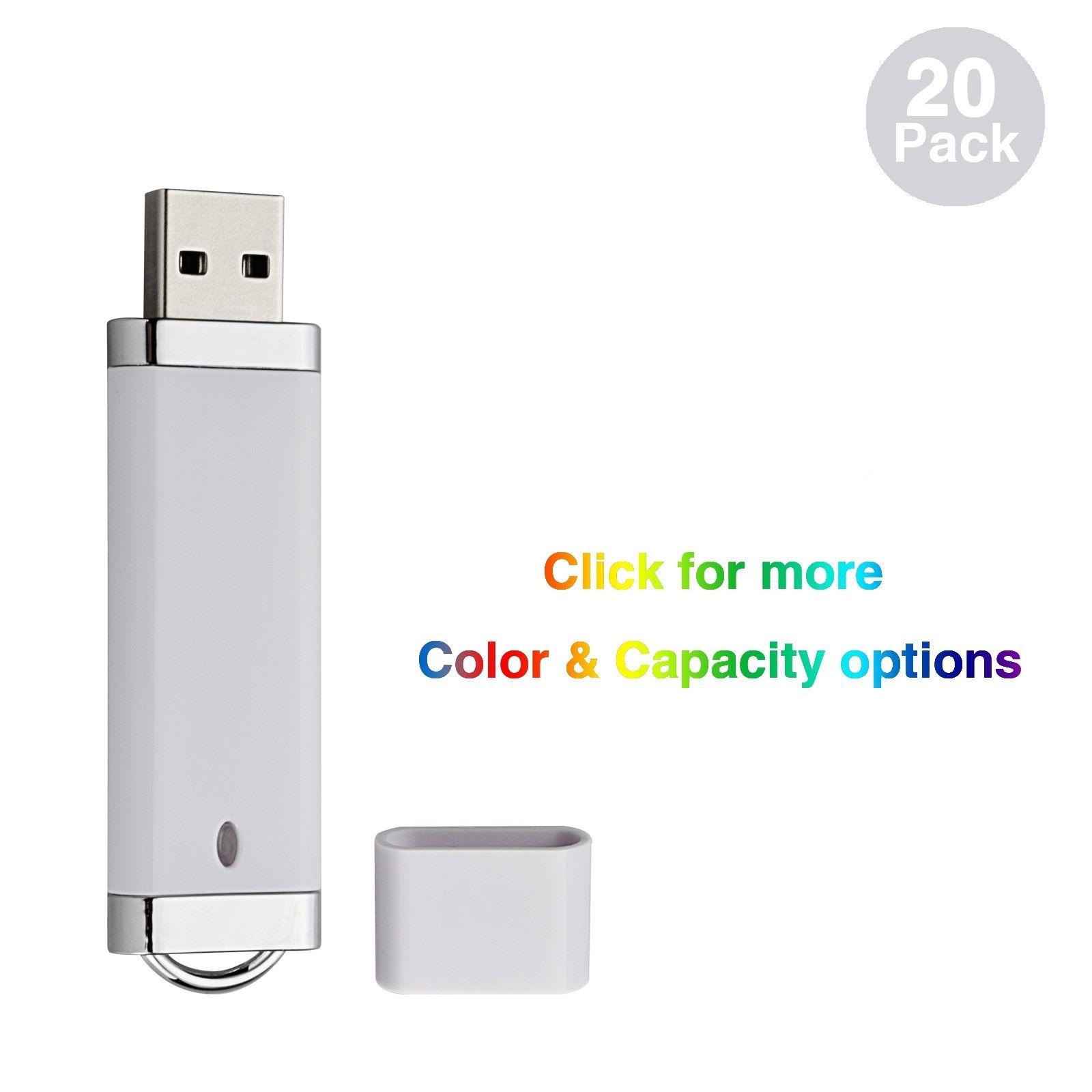 컴퓨터 노트북 엄지 저장 LED 표시 등 다중 색상 벌크 (20) 라이터 디자인 기가 바이트 USB 2.0 플래시 드라이브 플래시 메모리 스틱 펜 드라이브