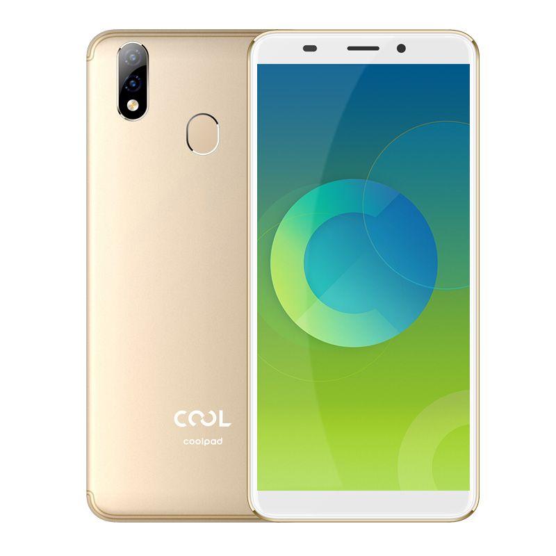 Оригинал Coolpad прохладный 2 с 4G LTE сотового телефона 4 ГБ оперативной памяти 64 Гб ROM MT6750 восьмиядерный Android-5.7-дюймовый 13.0 MP отпечатков пальцев ID смарт-мобильный телефон