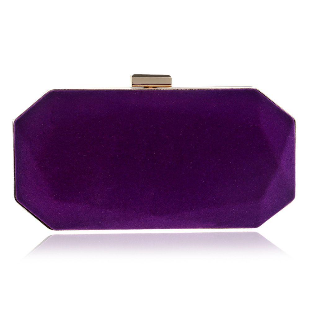 Helle purpurrote Frauen-kleine Abend-Handtaschen-Hochzeitsfest-neue Handtaschen-und Geldbeutel-Damen-Kettenumhängetasche