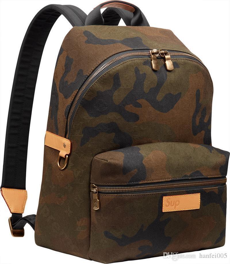 17ß Sup-Rucksack-Schulter Justin Bieber Tasche Mode Paar Schulranzen Camouflage Sport High Street HFBB027